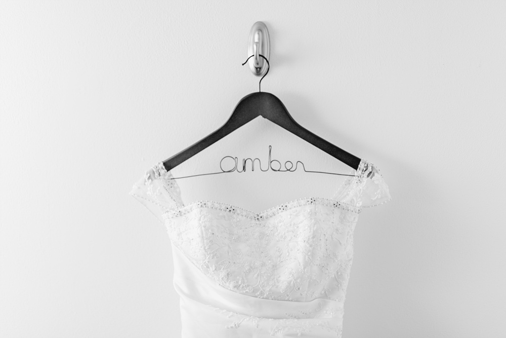 Wedding Dress Hanger Tips by Amber Langerud Photography