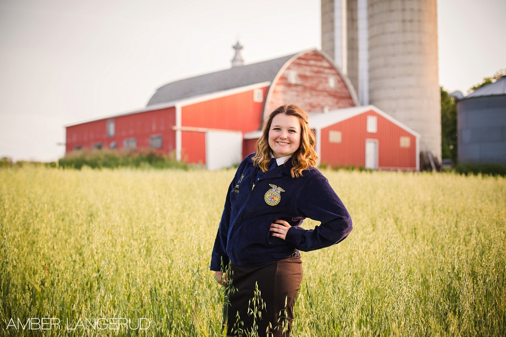 FFA Styled Shoot | Detroit Lakes, MN Senior Session