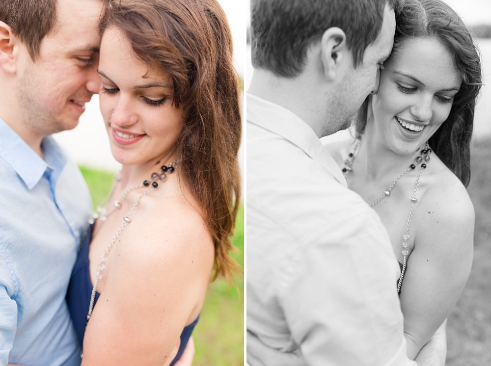 Lakeside summertime anniversary session near Audubon, MN | Amber Langerud Photography