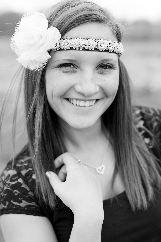 Outdoor Tulle Skirt Inspired Senior Session | Amber Langerud Photography