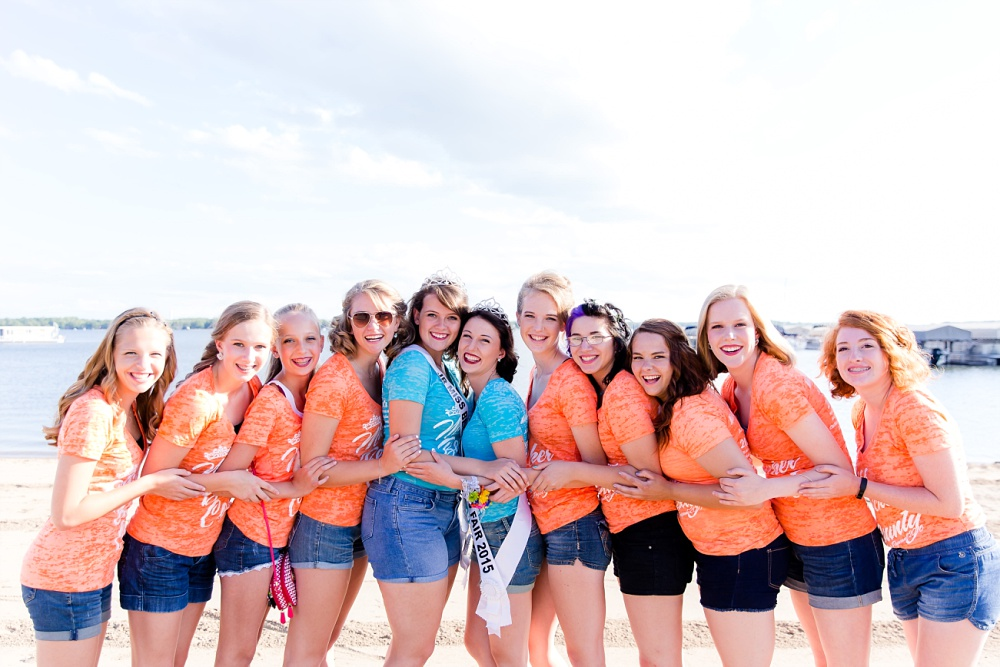 Miss Becker County 2016 pre pageant photos | Miss & Jr Miss contestants at the beach