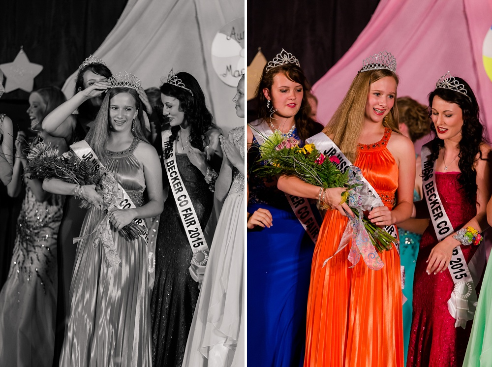 Miss Becker County Fair 2016 | Crowning Jr Miss!!!