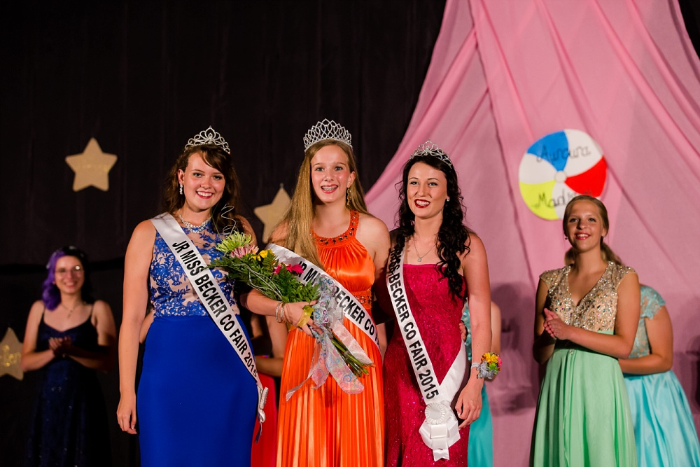Miss Becker County Fair 2016