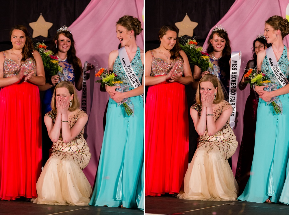 Miss Becker County Fair 2016 | Crowning Miss Becker County Fair