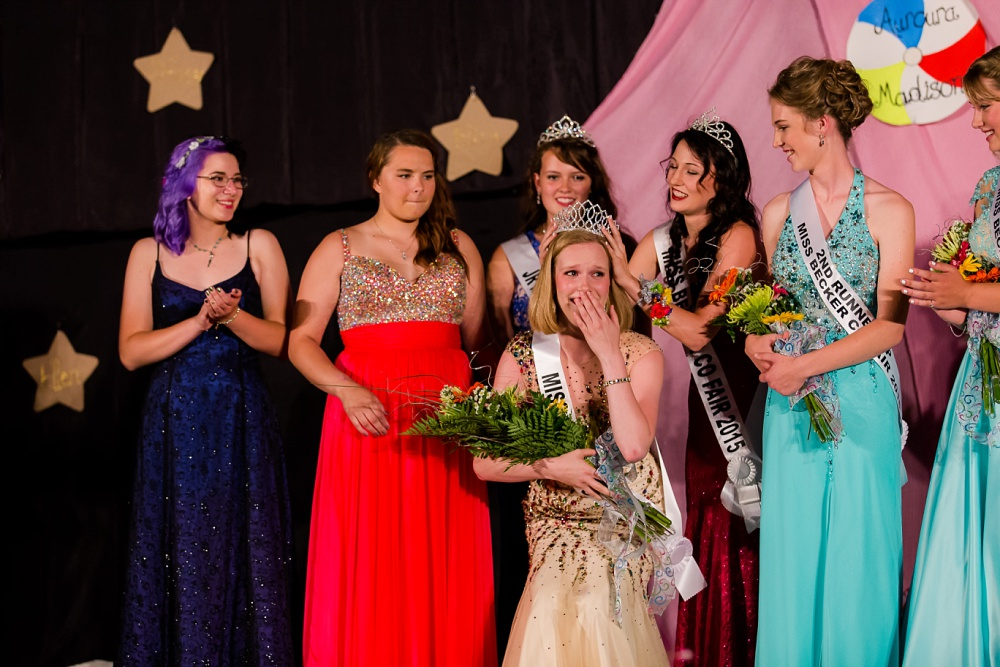 Miss Becker County Fair 2016 | Crowning