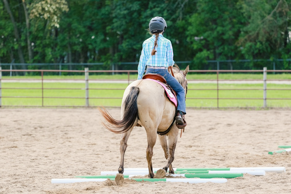 2016 Becker County 4-H Horse Show in Detroit Lakes, MN | Trail Class