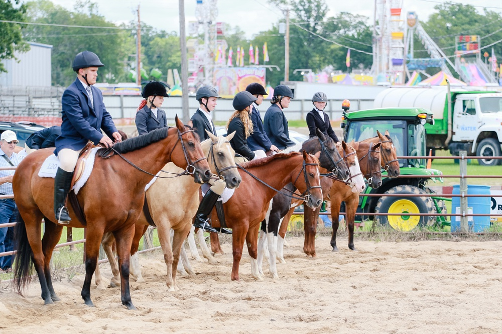 2016 Becker County 4-H Horse Show in Detroit Lakes, MN   English Equitation