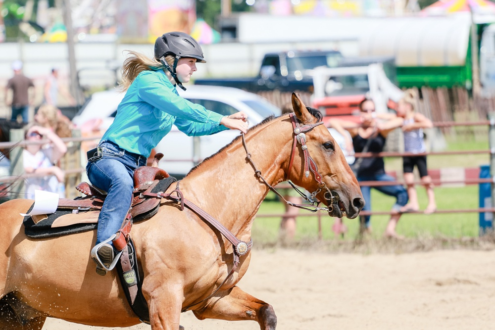 2016 Becker County 4-H Horse Show in Detroit Lakes, MN | Horse Running