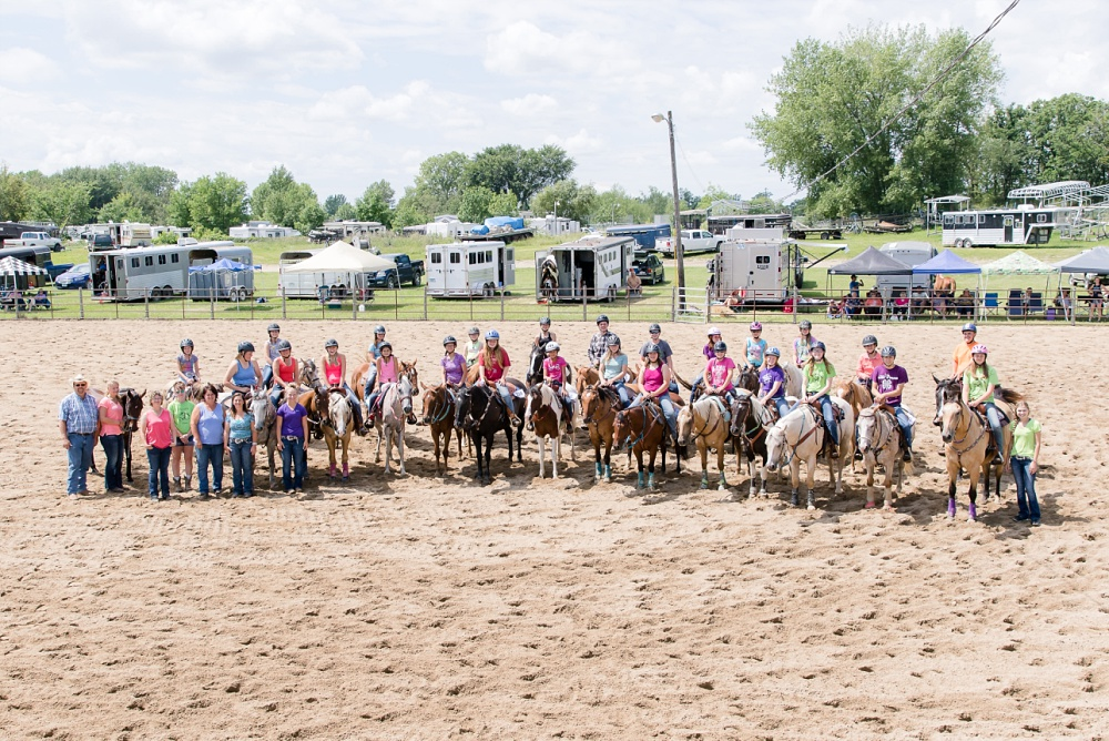 2016 Becker County 4-H Horse Show in Detroit Lakes, MN | Group Photo