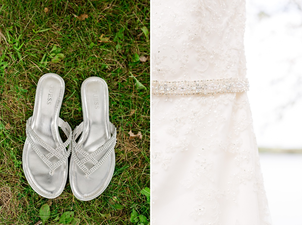 Rustic, Elegant, Lakeside & Frazee Event Center Wedding | Steph & Tim | Wedding Shoes
