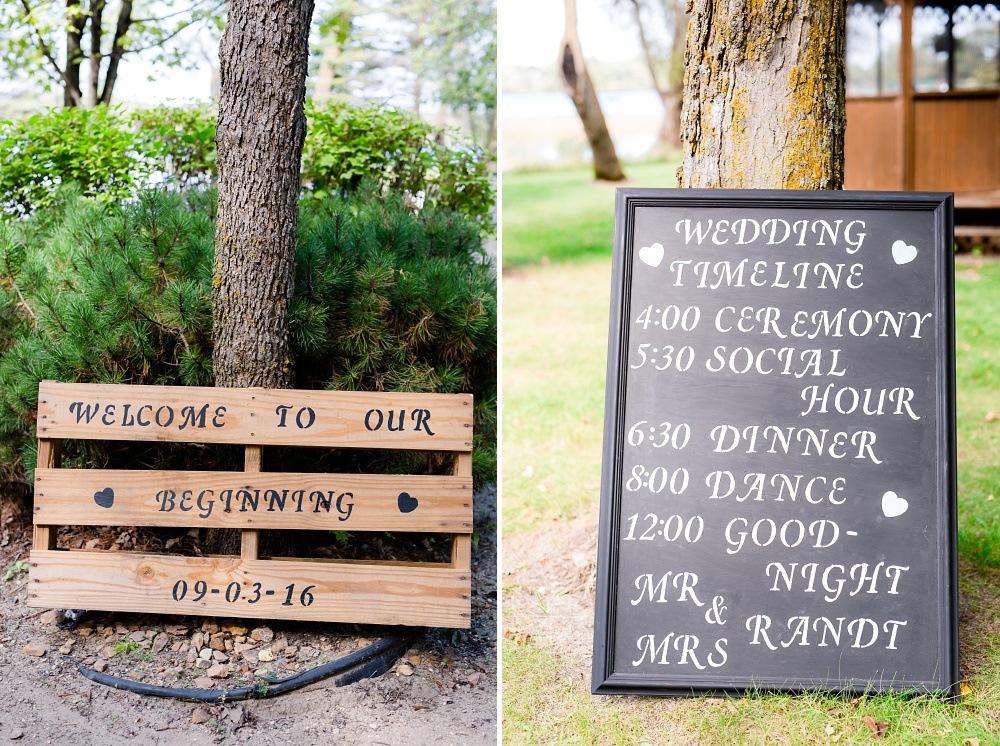 Rustic, Elegant, Lakeside & Frazee, MN Event Center Wedding | Steph & Tim