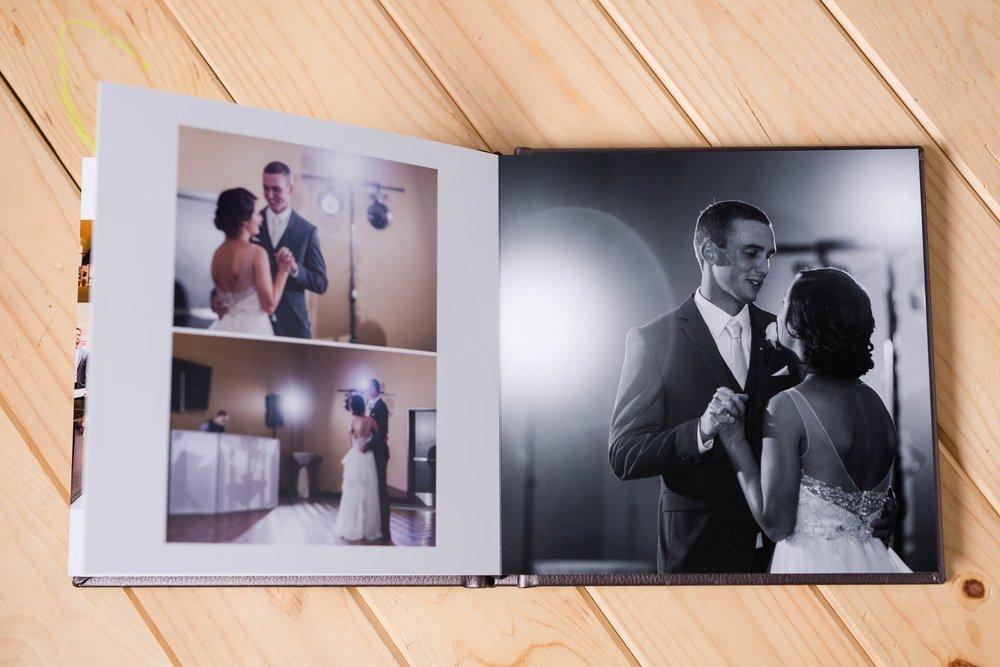 Wedding Album Feature of Rustic Styled Fargo, ND Wedding | Dani & Alex