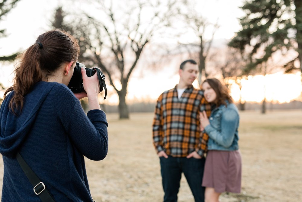 Behind the Scenes Engagement Film in Grand Forks, ND | Sarah Pilon Photography