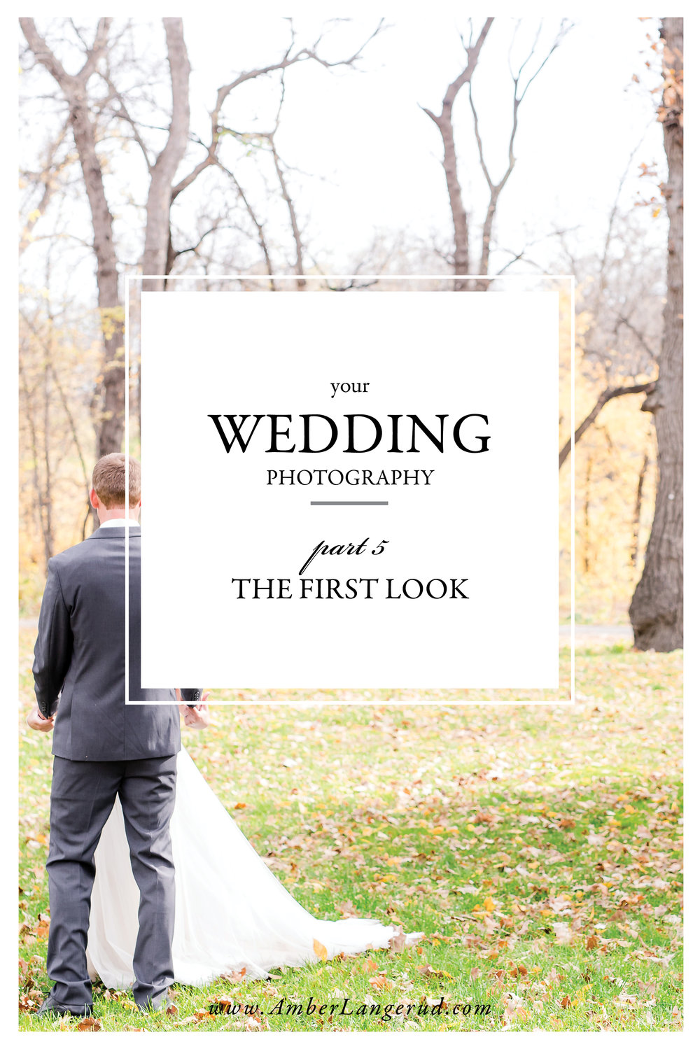 Your Wedding from a Photographer's Perspective | All about the first look