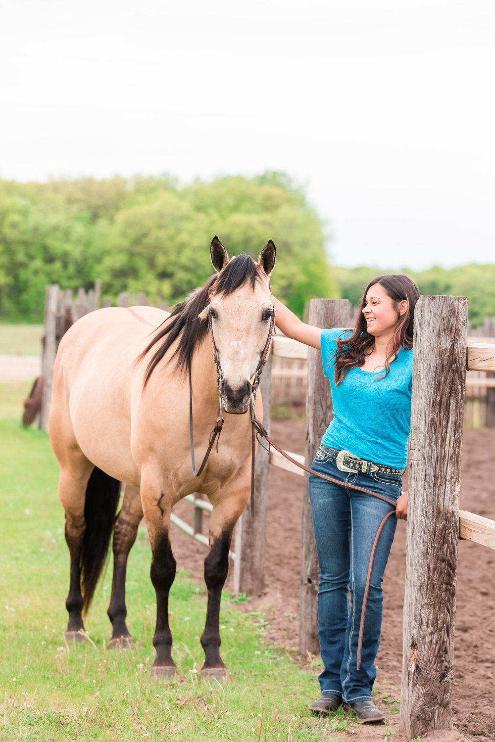 Country Styled, A Girl and Her Horse Session at Sandy Oaks Arena in Frazee, MN by Amber Langerud Photography| Kayla