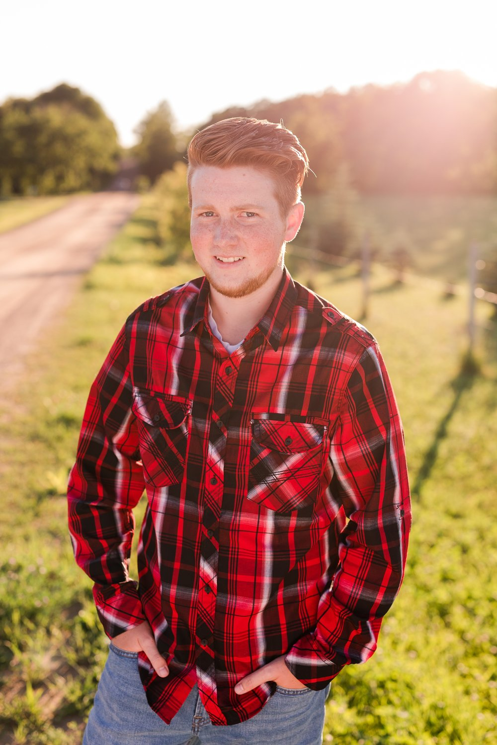 Country Styled Guy Senior Session on Little Cormorant Lake, Minnesota | Elijah