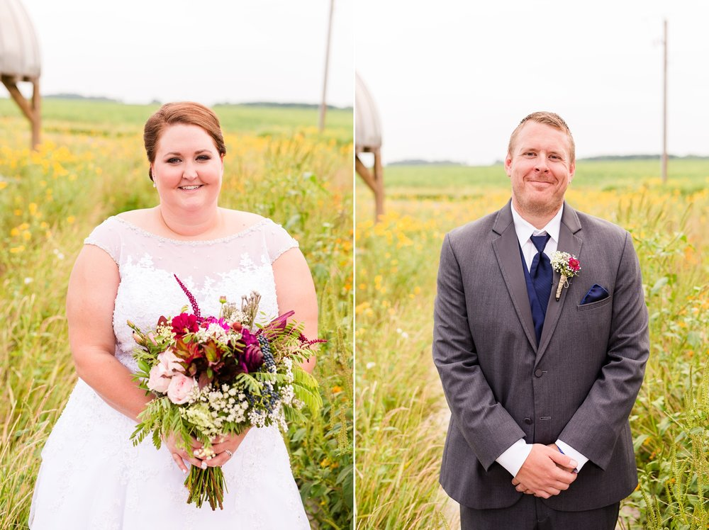Rustic Oaks, Moorhead Minnesota Outdoor, Barn Wedding by Amber Langerud | Michelle & Keith