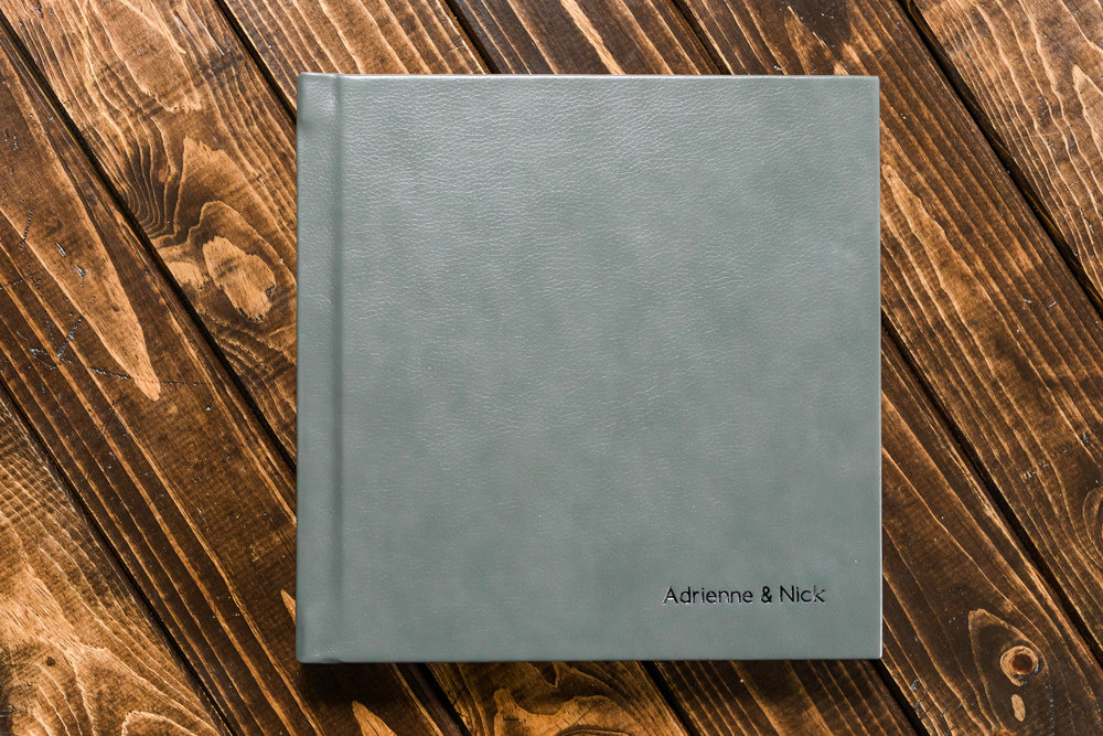 LUXE ALBUM - Perfect for weddings!10x10 inch, 15 spread album$850