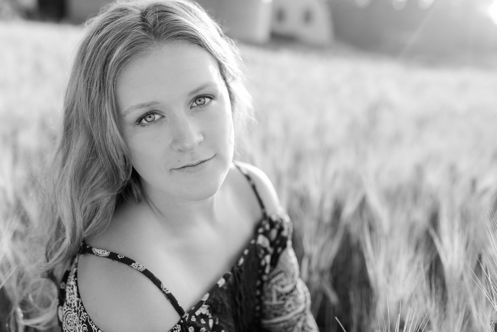 - Amber makes you feel so comfortable in front of the camera! I had a great time doing my senior shoot and I loved every shot!-Emma