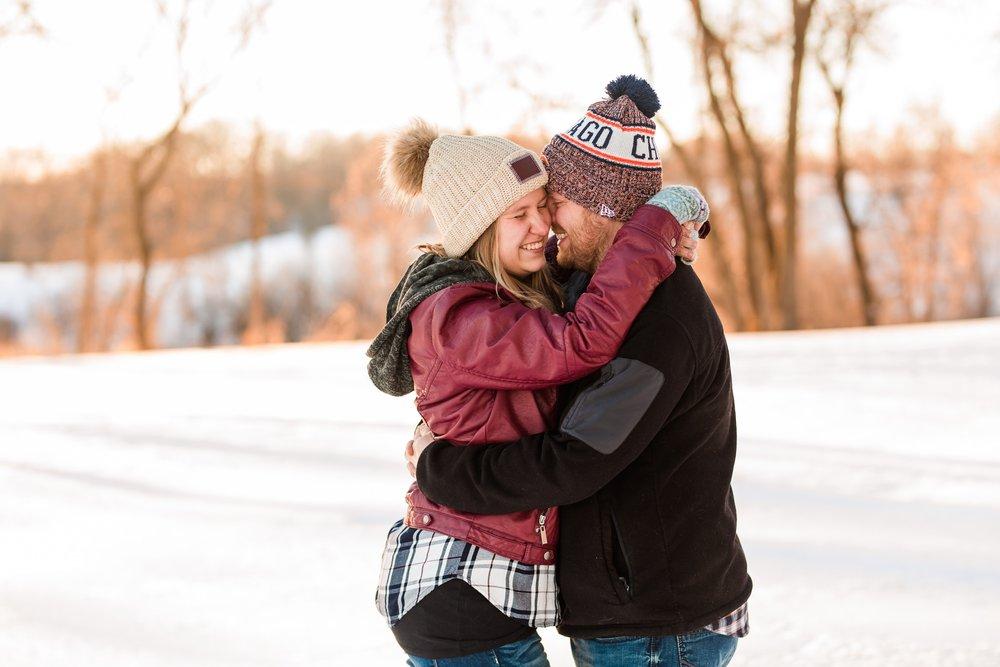 Amber Langerud Photography_Minnesota Winter Engagement Portraits_6153.jpg