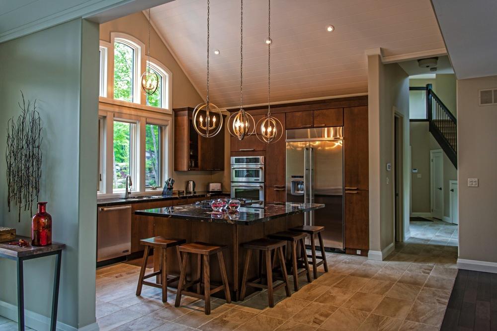 Kitchen muskoka kitchen bath - Highlands designs custom kitchen cabinets ...