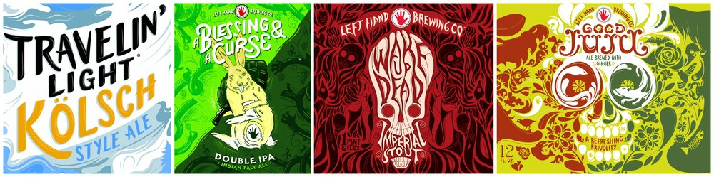 We're teaming up with Left Hand Brewing Co. to give you the chance to experience their interesting beers and culture, no matter which of our locations you frequent!