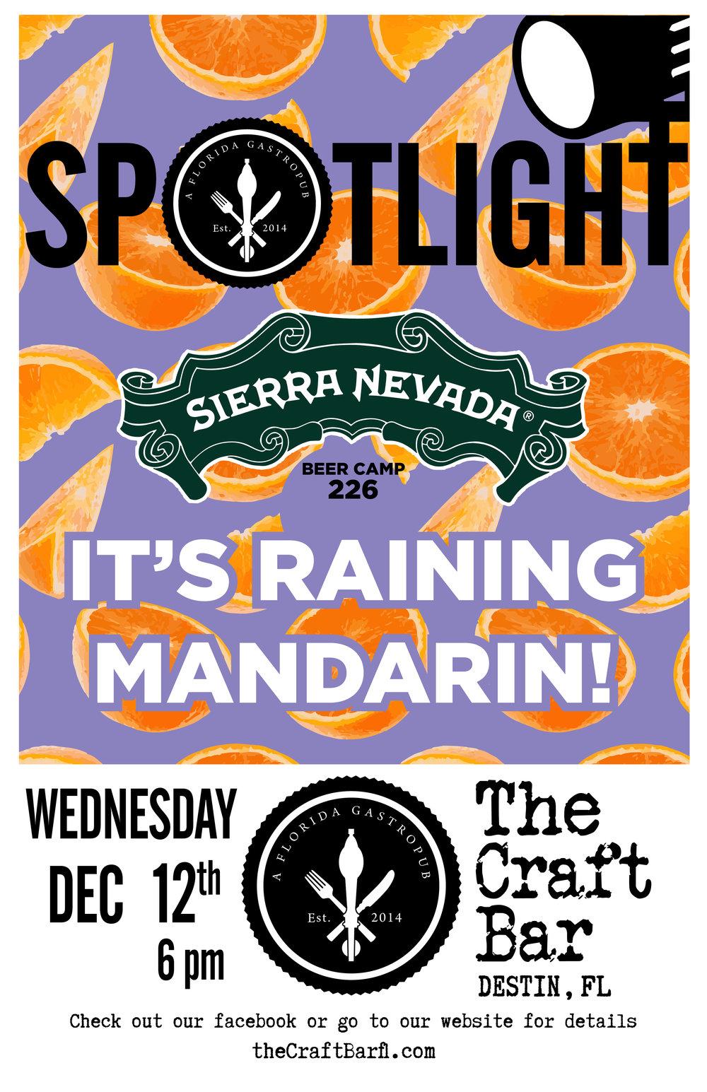 Spotlight - Sierra Nevada Raining Mandarin - DESTIN - Poster.jpg