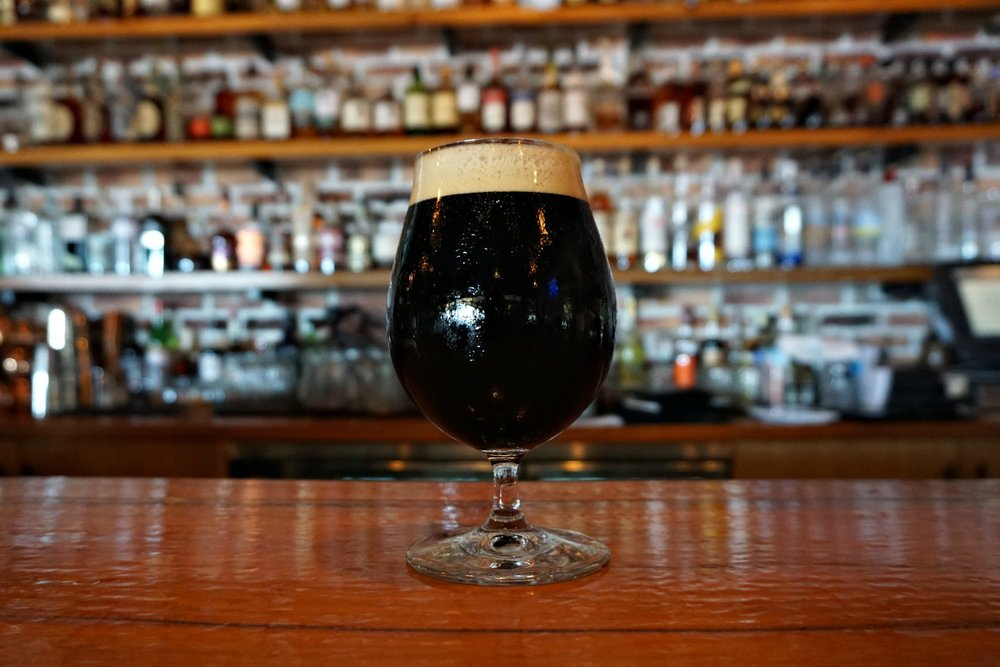 The Craft Bar - stout on draft