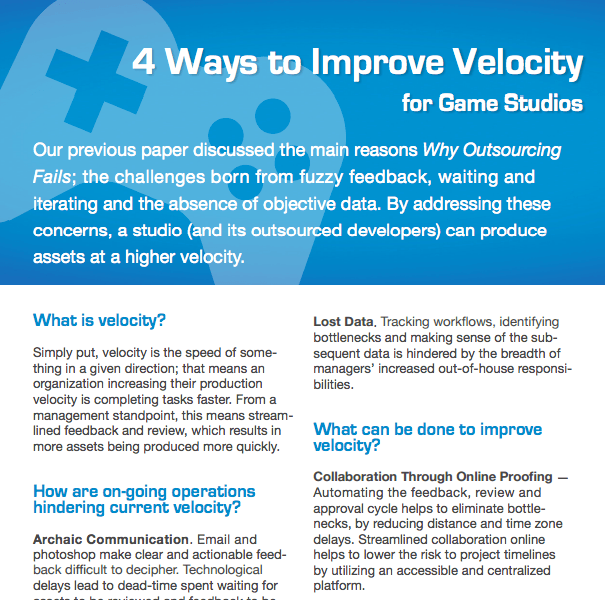 4 Ways to Improve Velocity - Gaming    DOWNLOAD