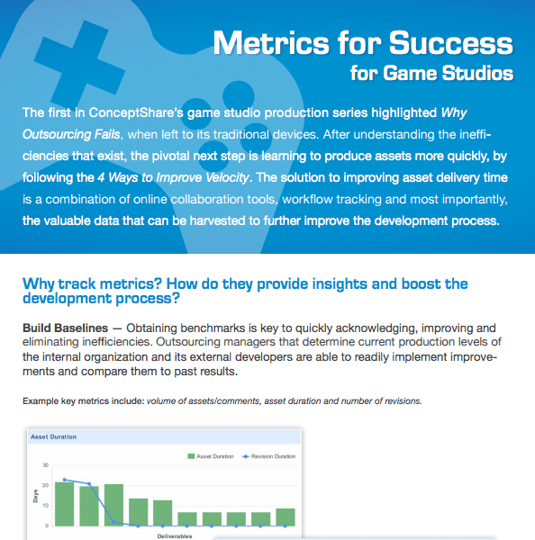 Metrics for Success - Gaming    DOWNLOAD
