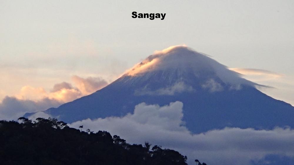 Sungay Volcano in Ecuador