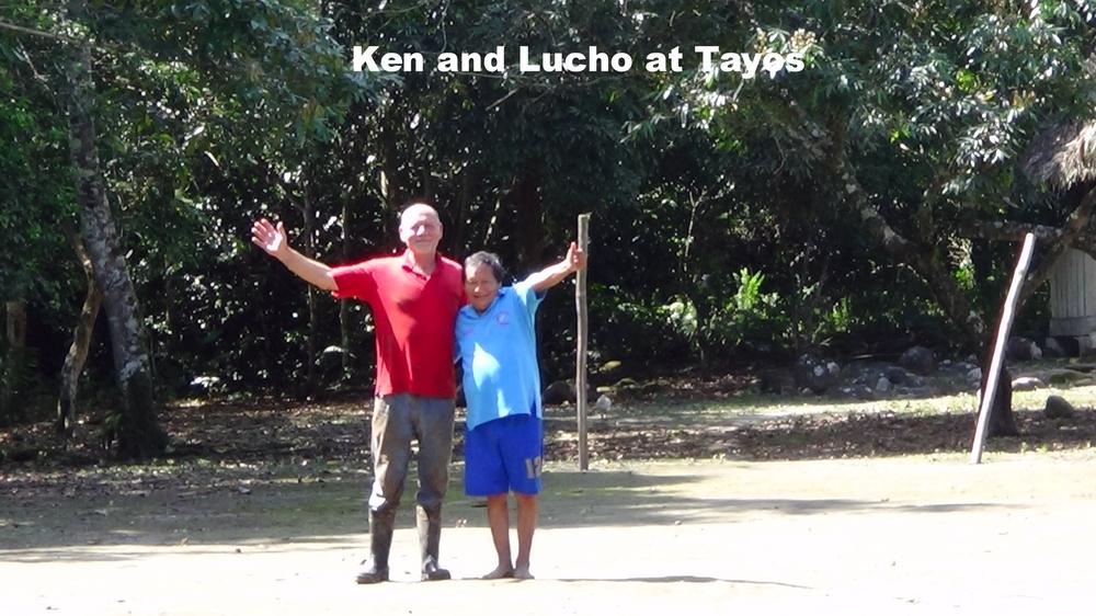 Ken and Lucho at Tayos