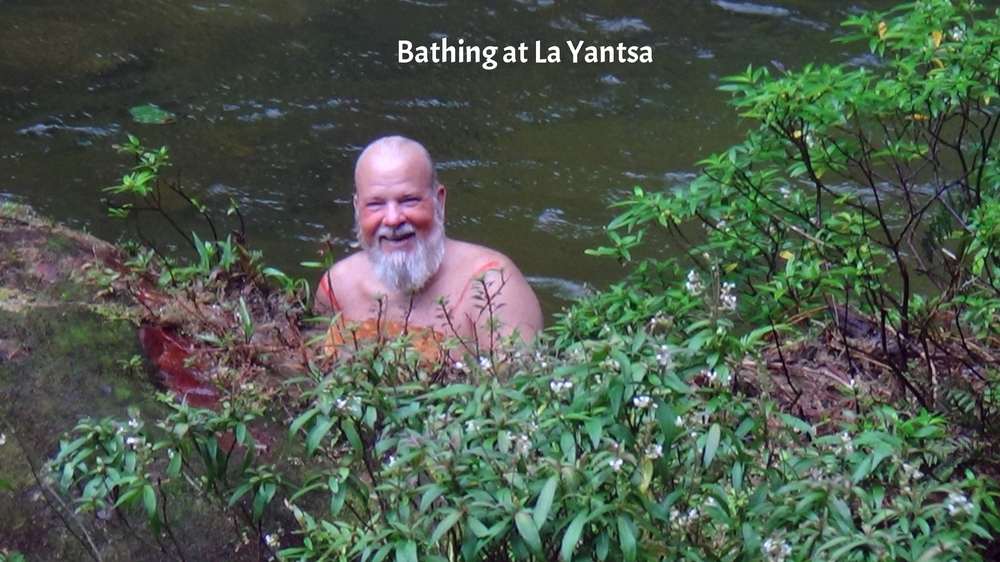 Bathing at La Yantsa