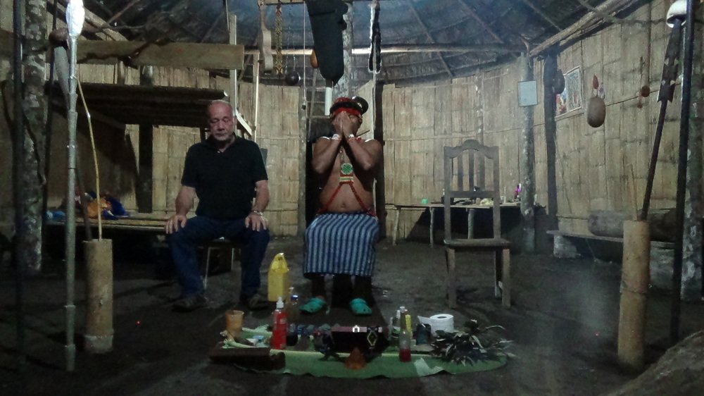 Ayahuasca cleansing