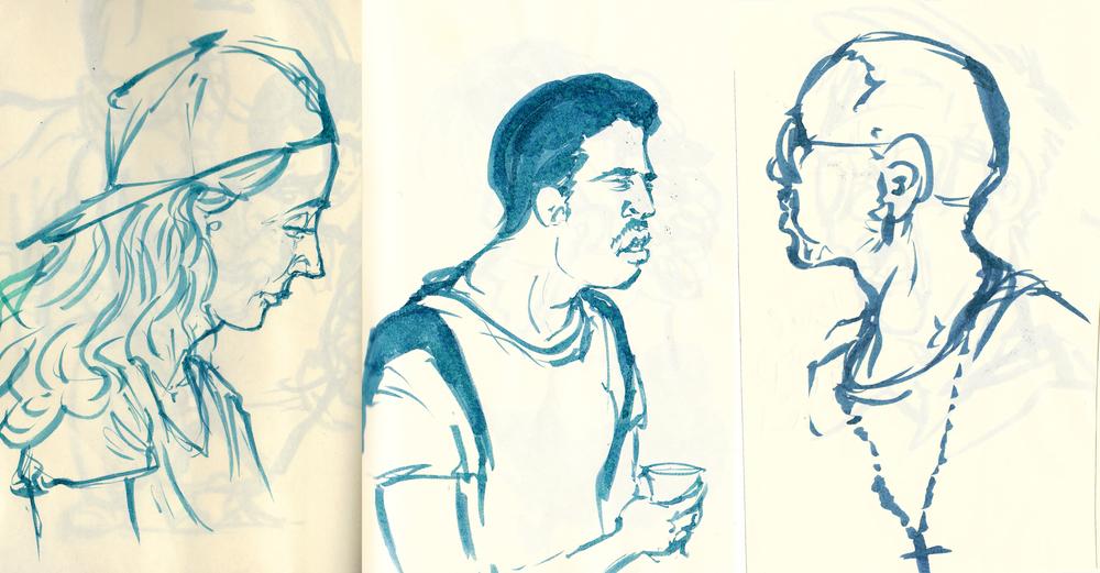 Subway friends