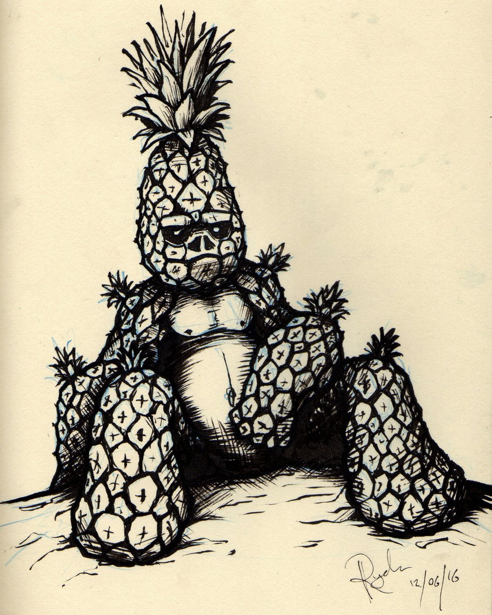 Pineapple Gorilla