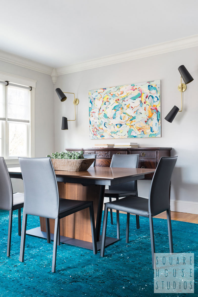 squarehouse-dining room-teal-modern painting.jpg