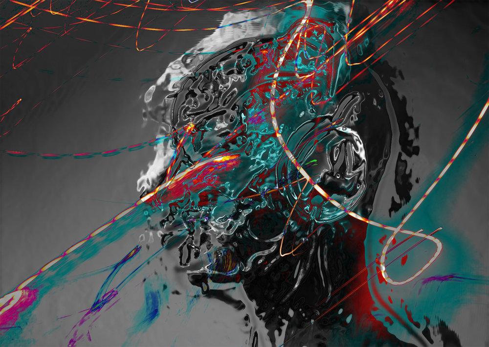 Dead Memory (2017) Digital Art SOLD