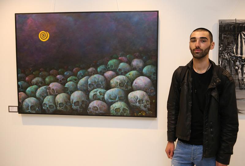 Dielli i Mesnates (2018) Oil on canvas 2,000 €