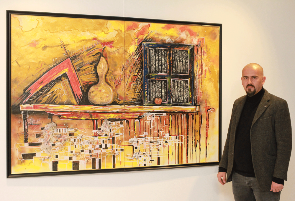 Një Dritare (2018) Acrylic on canvas 1100 €