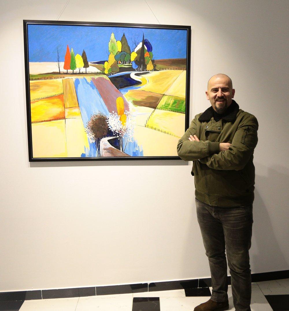 Landscape Acrylic On Canvas 500 €