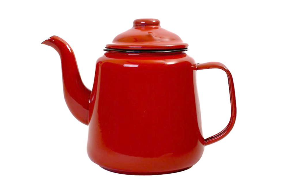 Falcon Camping Teapot - Red