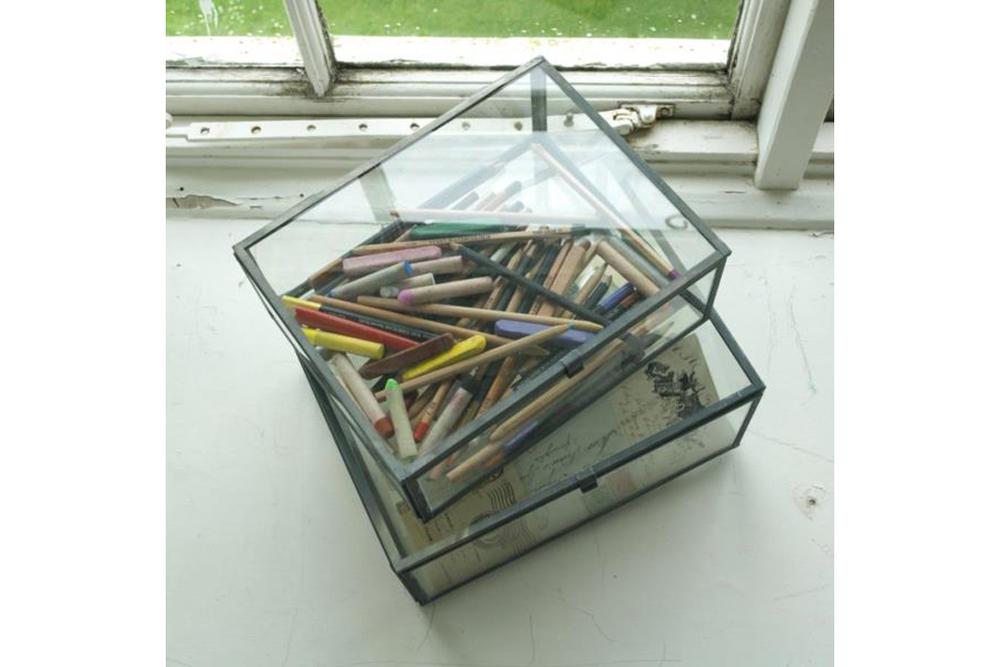 Glass Box - Clear Matt Grey
