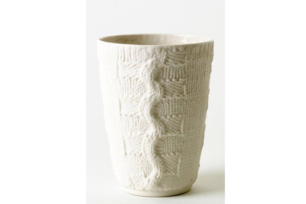 Rope & Twist Small Vase