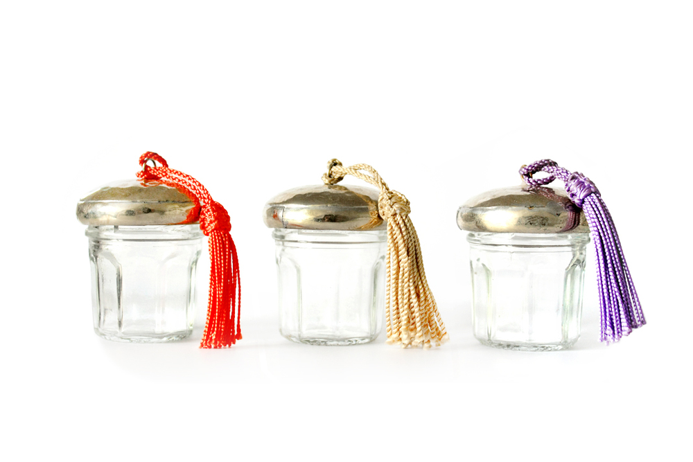 Silver Jam Container Set