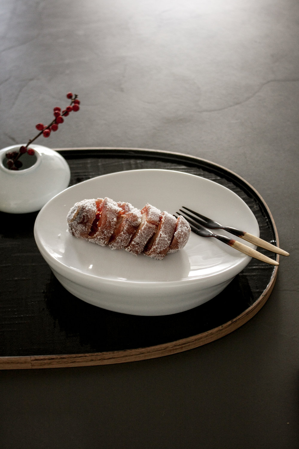 dessert plate_Rho02's Tableware / lacquered tray & folk_choeunsook gallery