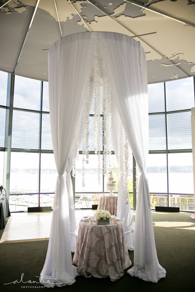 Weddings on the Waterfront | World Trade Center Weddings and Events | Seattle Wedding Coordination | Alante Photography