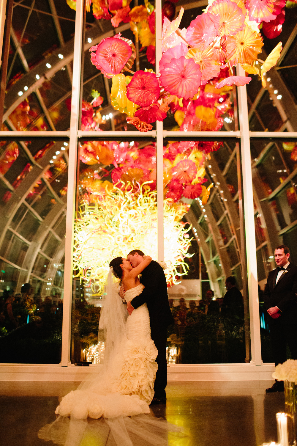 Chihuly Glass and Garden Wedding in Seattle | New Creations Wedding Planning