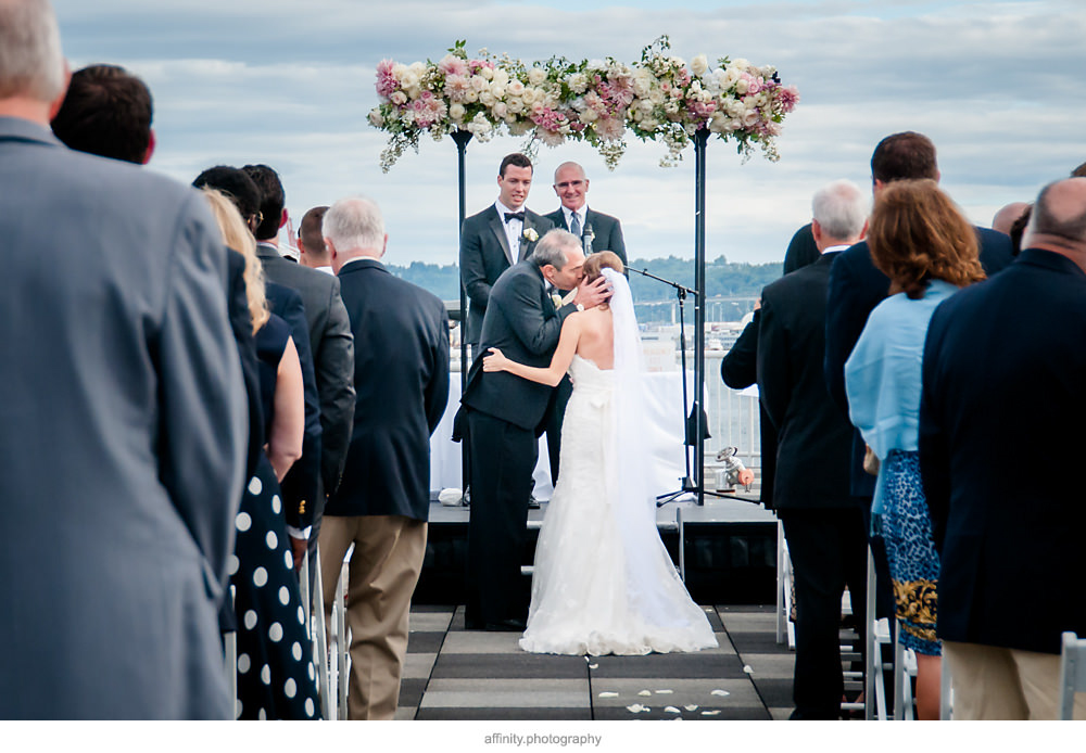 Bell Harbor Wedding in Seattle
