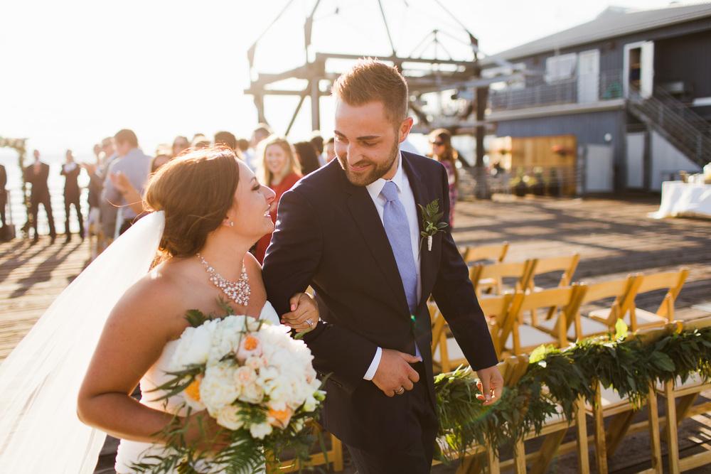Ray's Boathouse Wedding